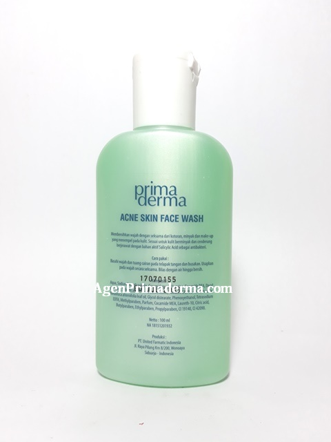 Acne Skin Face Wash Primaderma