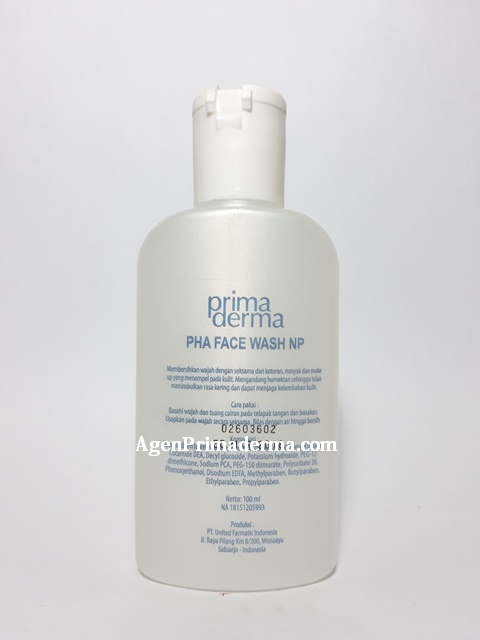 PHA face wash NP Primaderma