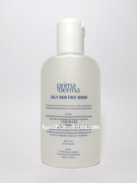 Oily skin face wash Primaderma